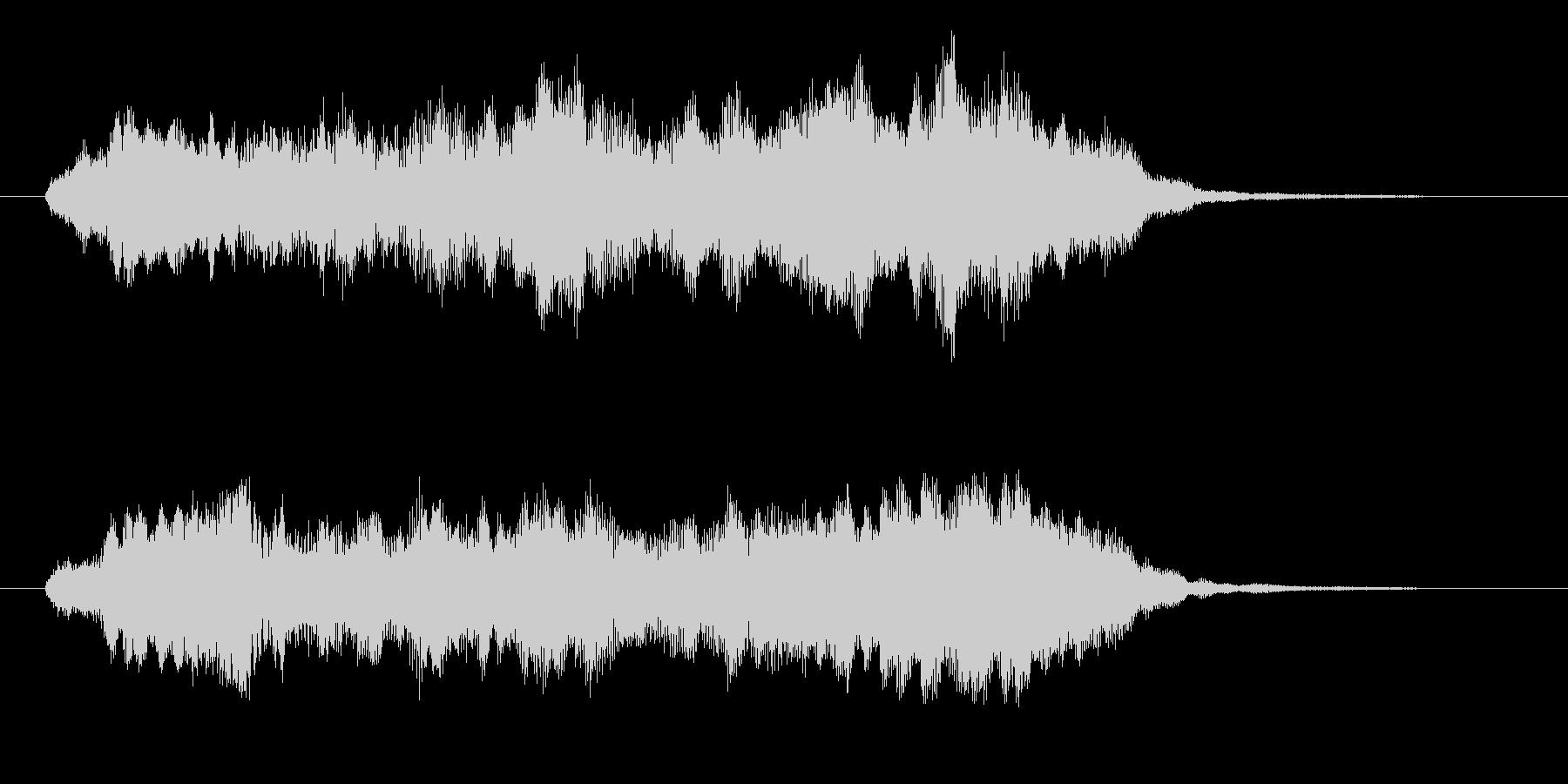 幻想的な合唱とストリングス 高音版 壮麗の未再生の波形
