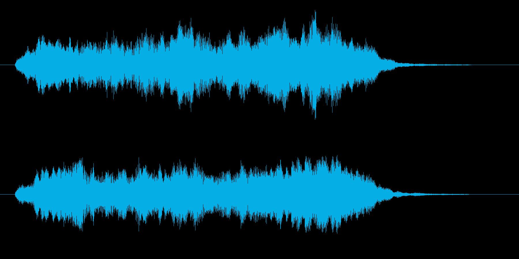 幻想的な合唱とストリングス 高音版 壮麗の再生済みの波形