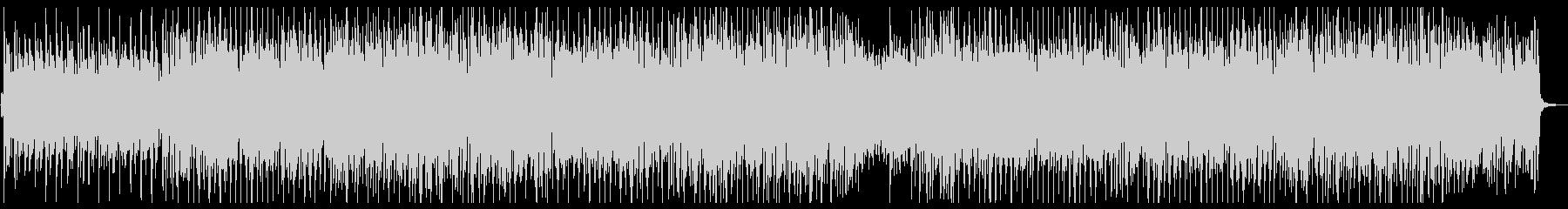 ミディアムテンポのほのぼのエレクトロの未再生の波形