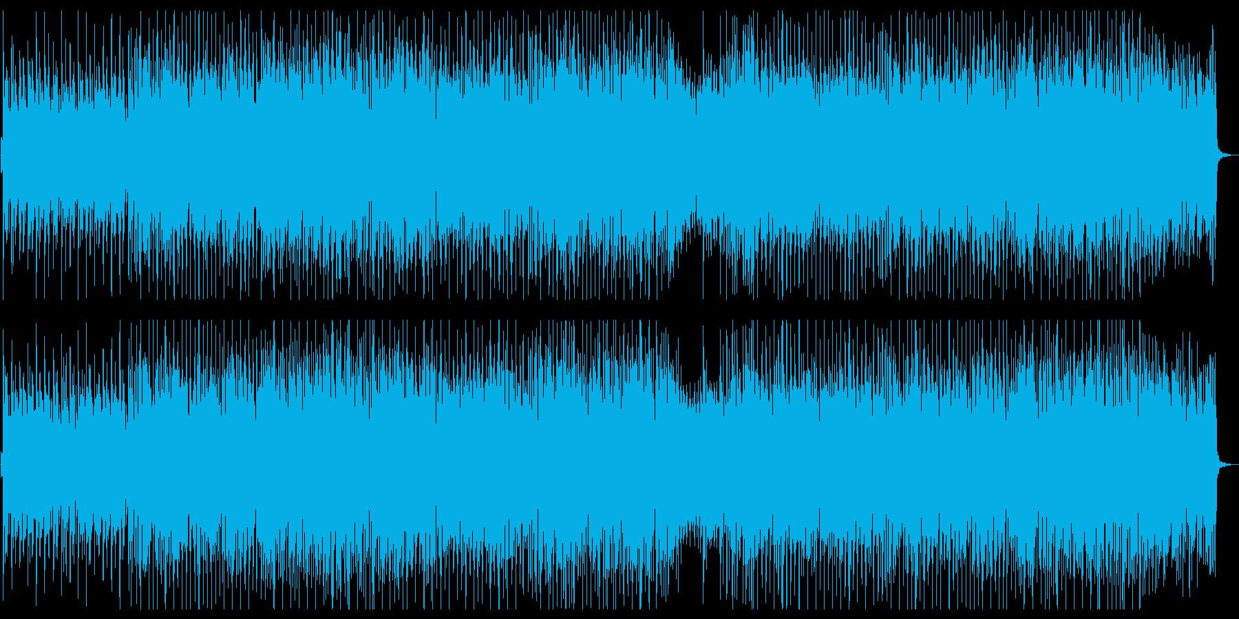 ミディアムテンポのほのぼのエレクトロの再生済みの波形