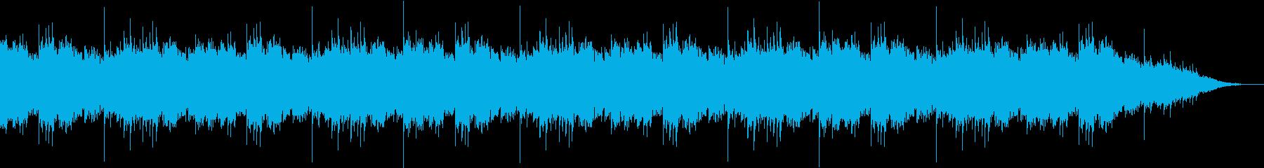 とても荘厳なBGMの再生済みの波形