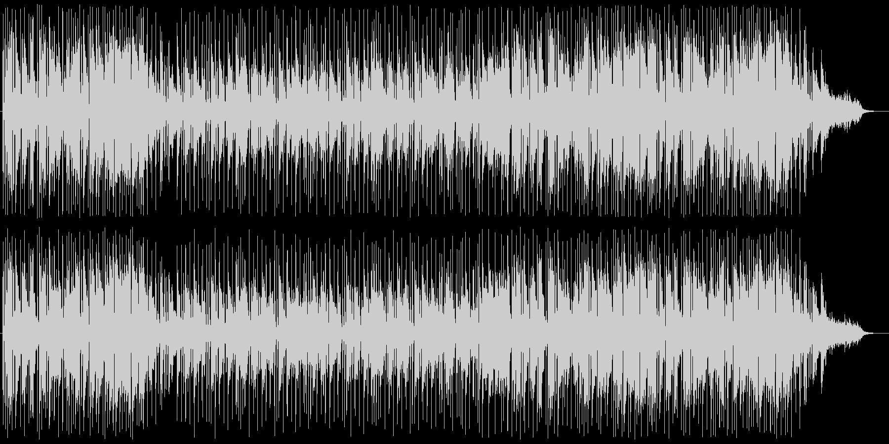 カフェミュージック:スムースジャズ系の未再生の波形