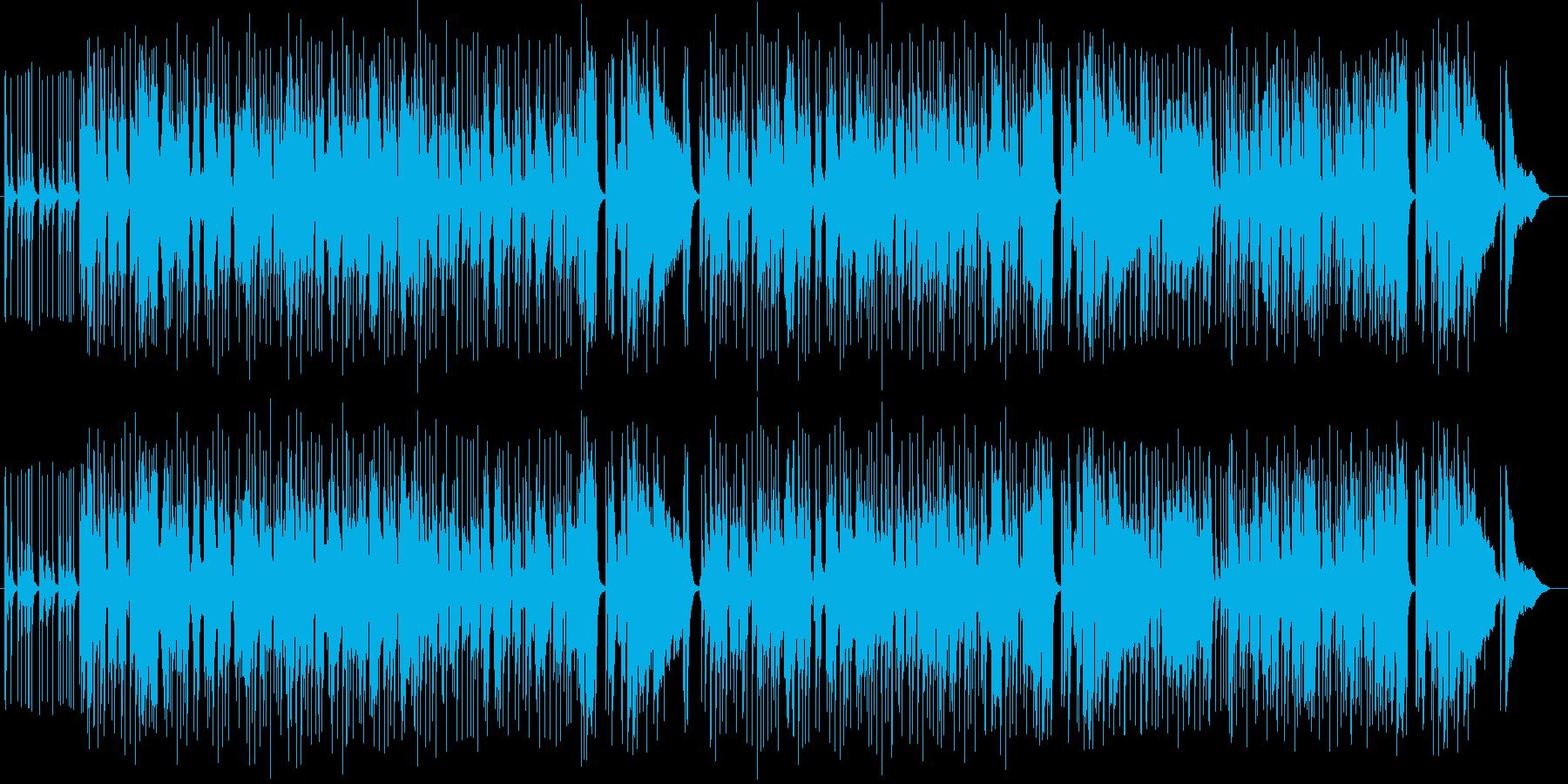 爽やかで楽しげなシンセ管楽器サウンドの再生済みの波形