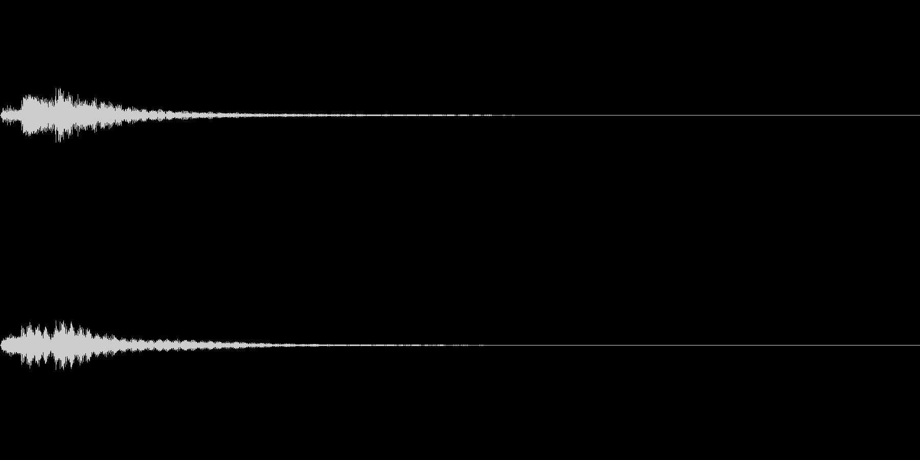 キャンセル 和風02の未再生の波形