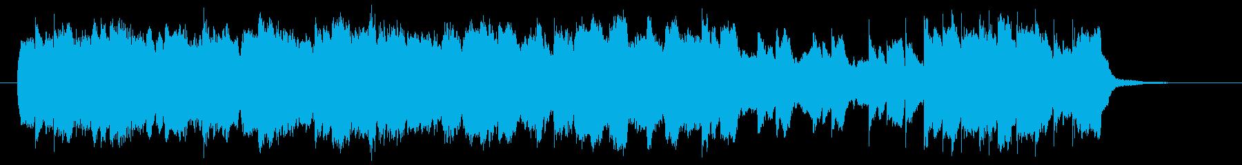 メリーゴーランドを連想させるワルツの再生済みの波形