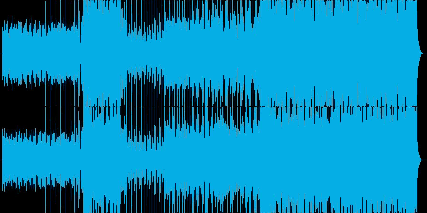 明るくせつないエレクトロダンスEDMの再生済みの波形