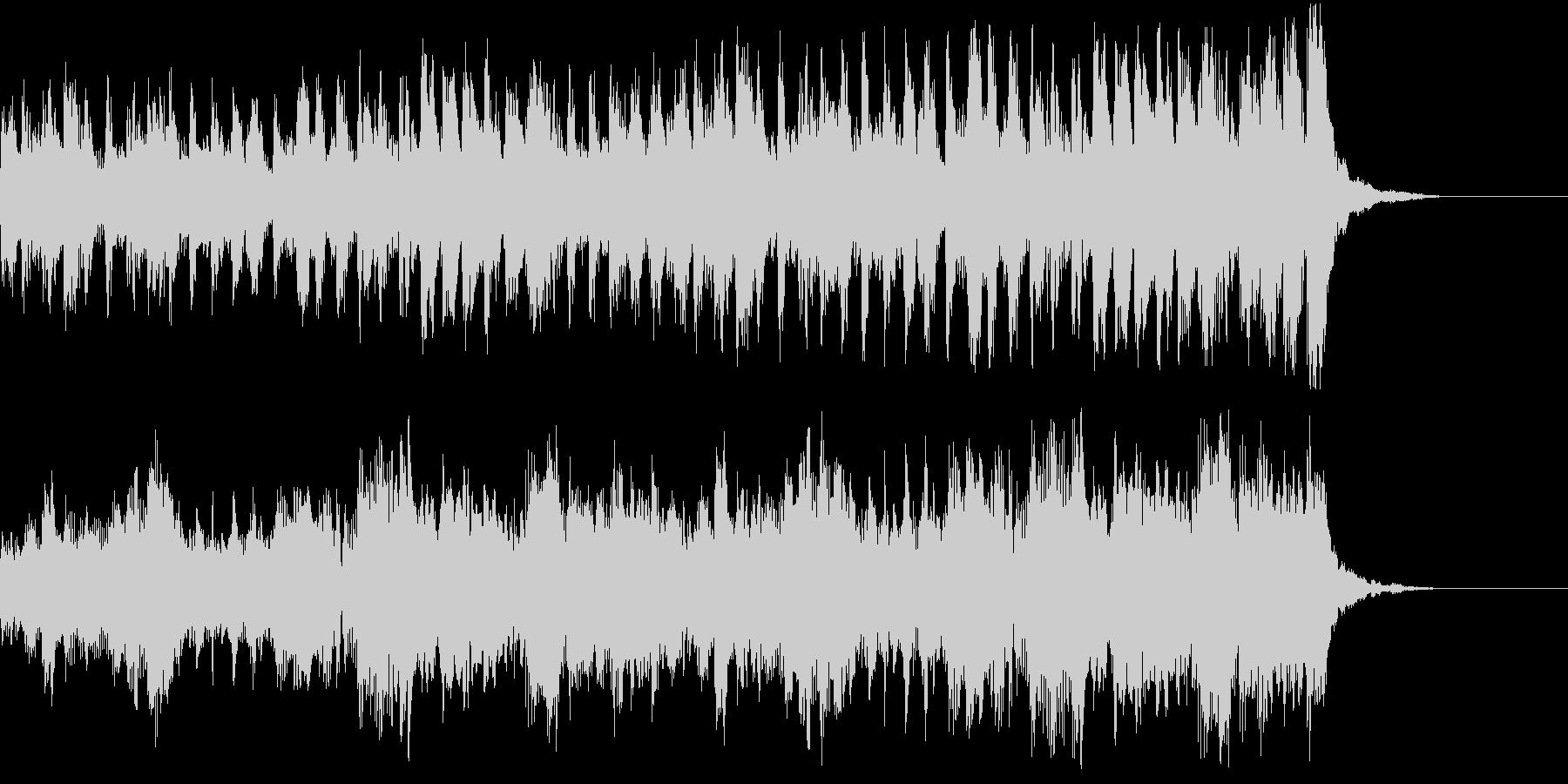 ジングル-ピチカートで軽快、コミカルにの未再生の波形