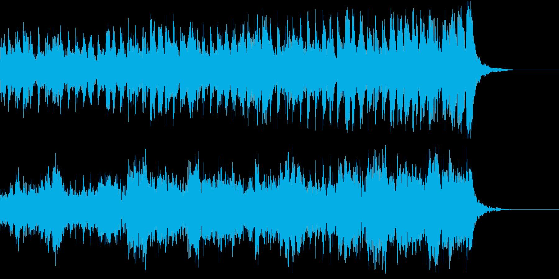 ジングル-ピチカートで軽快、コミカルにの再生済みの波形