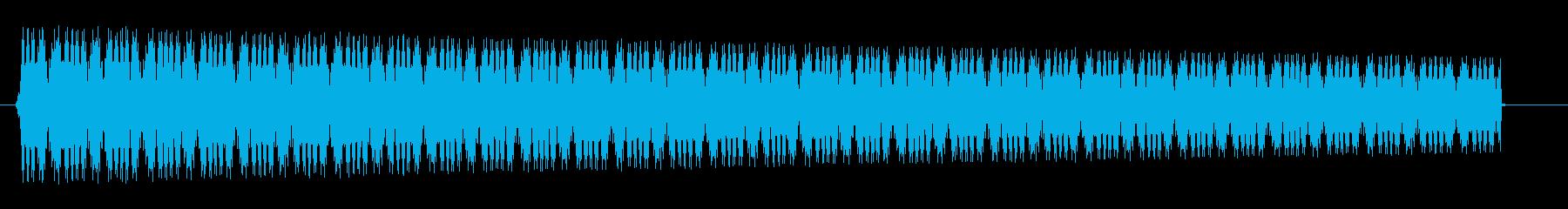 ピヨピヨピヨ(おもちゃの光線銃)の再生済みの波形