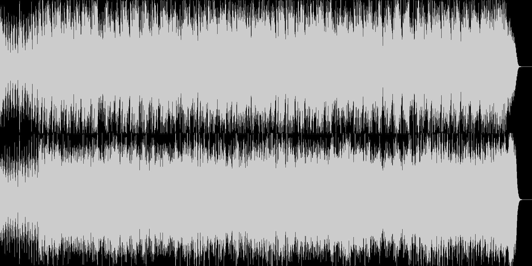和風ロックです。ベースが響く感じです。の未再生の波形