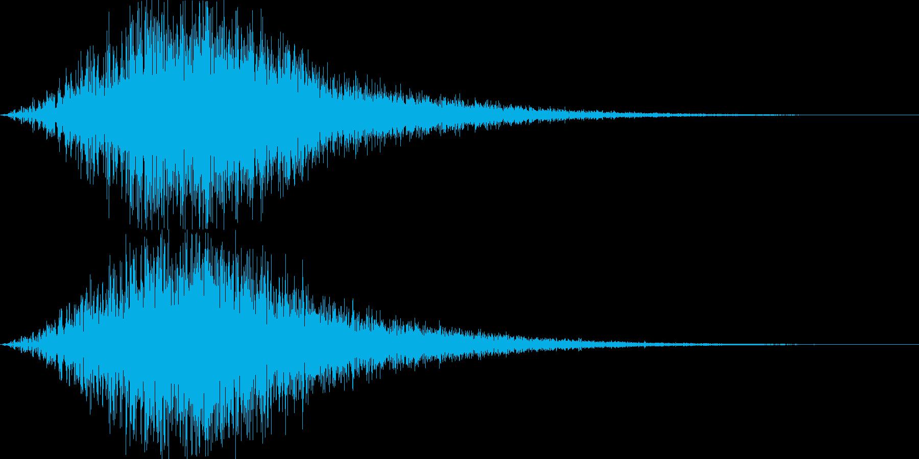 魔法詠唱・パワーアップ2の再生済みの波形