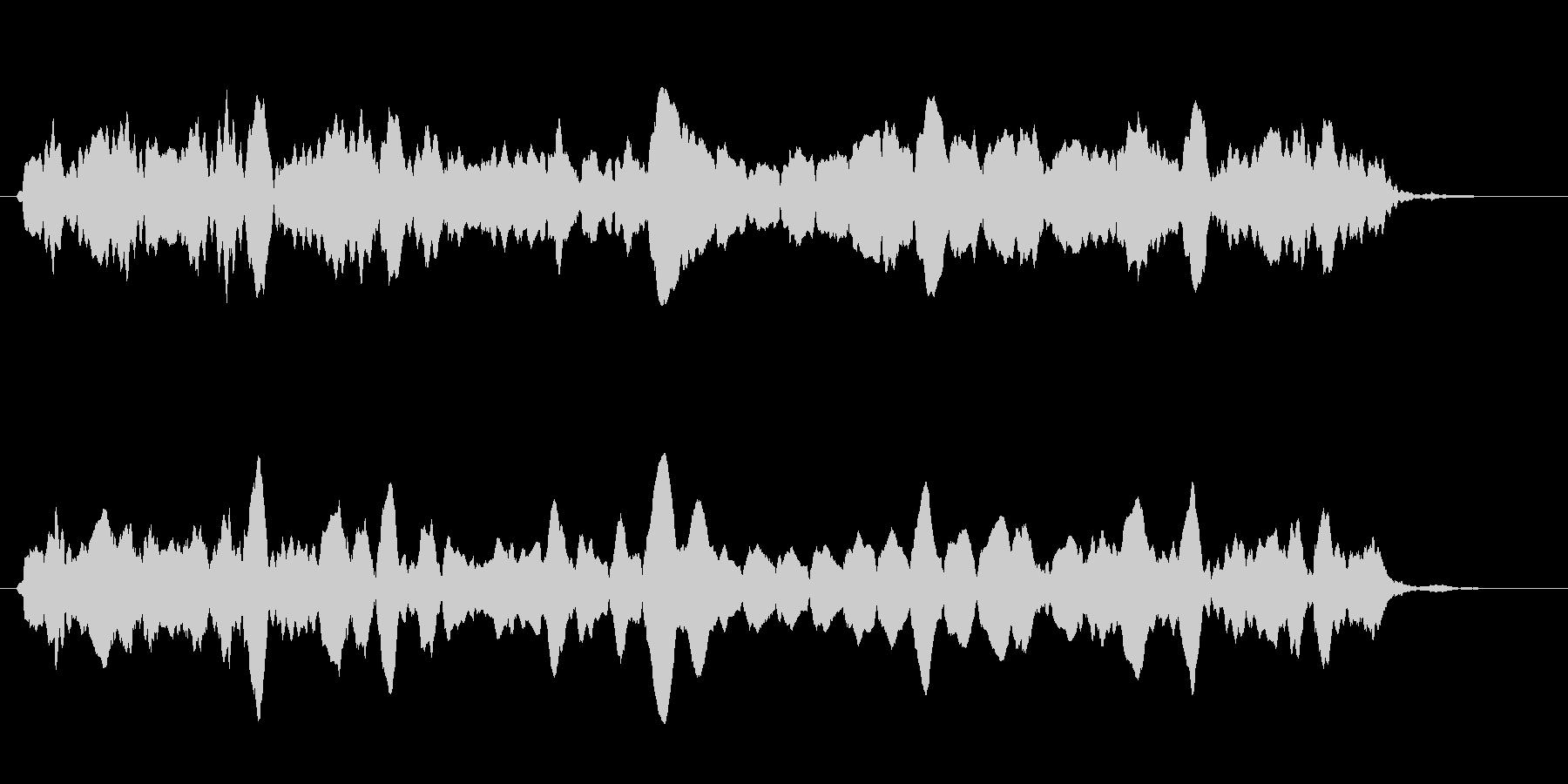 ピピピ(グラフ・ゲージ・パラメータ表示)の未再生の波形