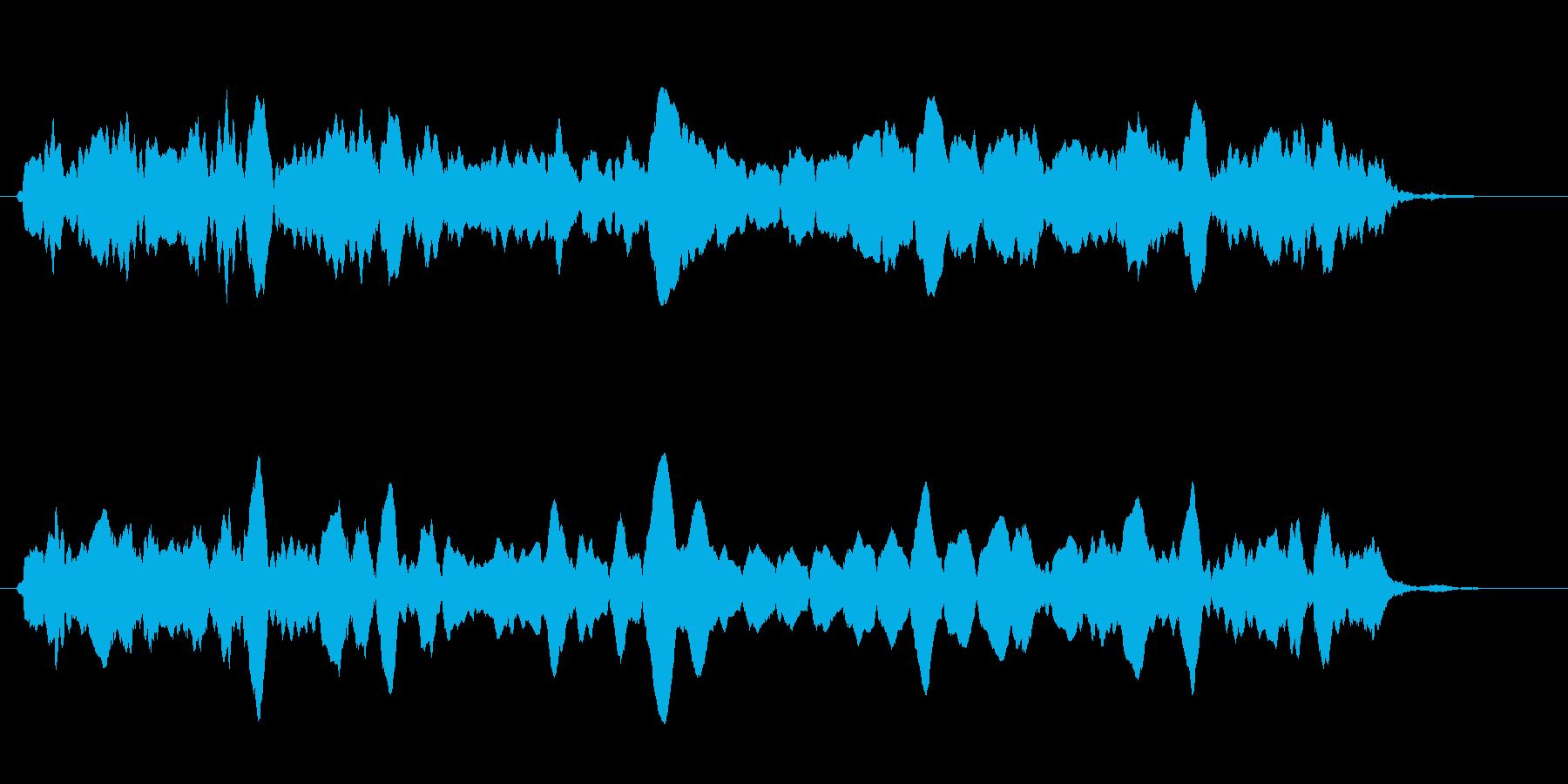 ピピピ(グラフ・ゲージ・パラメータ表示)の再生済みの波形