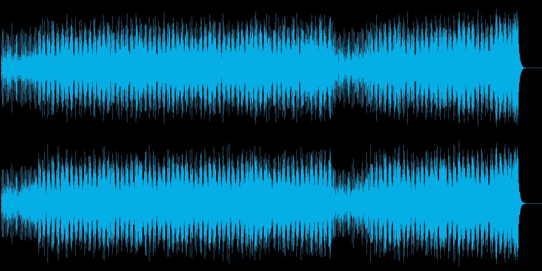 字幕インフォメーション用フュージョンの再生済みの波形