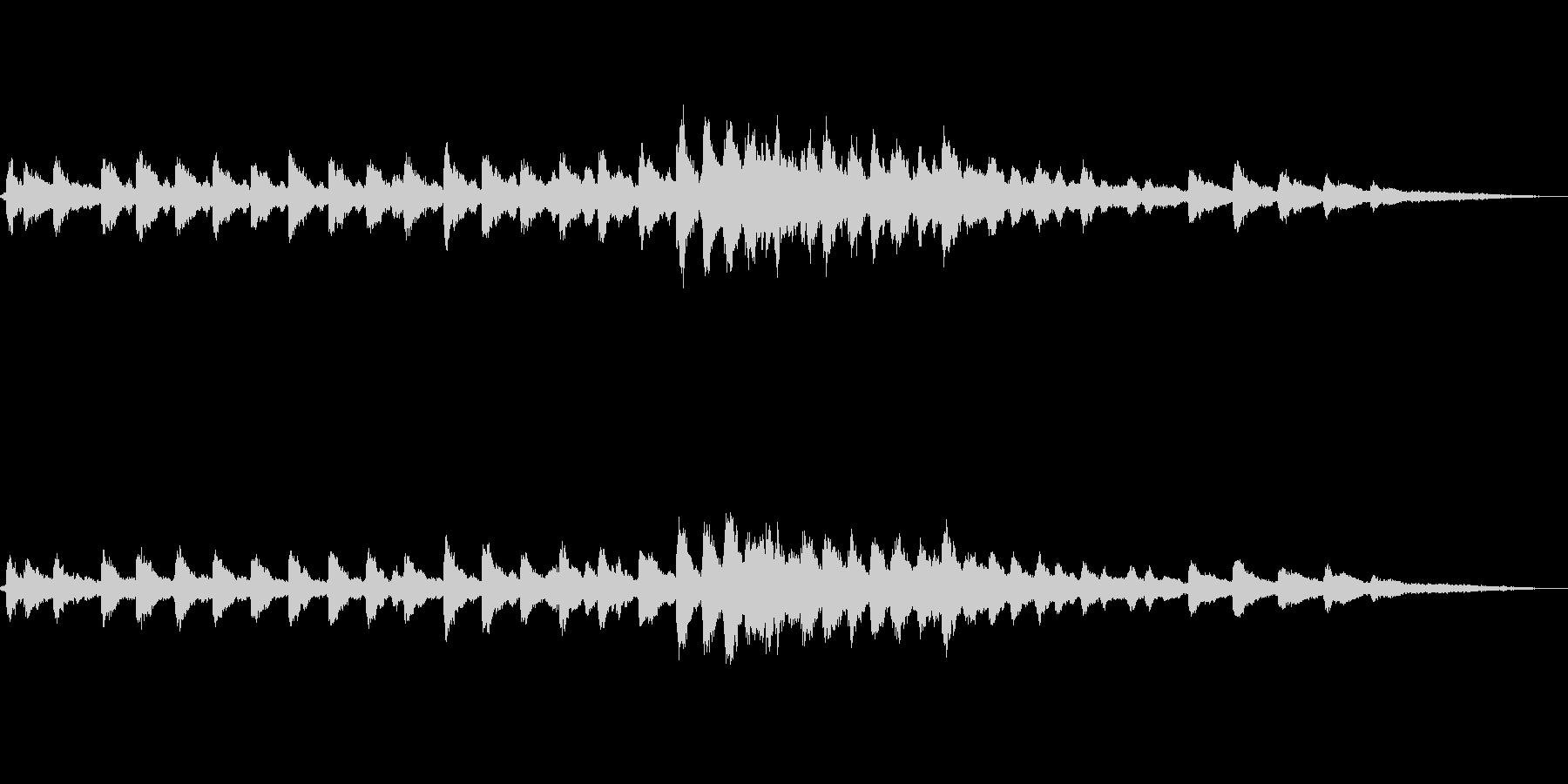 【環境音】教会の鐘01(バイノーラル録音の未再生の波形