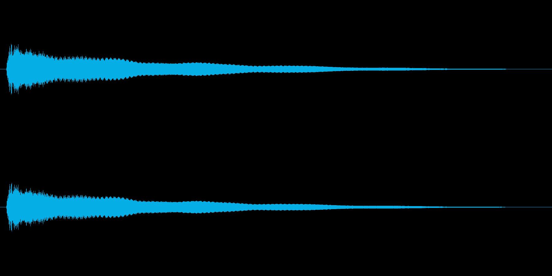 【鐘 お寺01-1】の再生済みの波形