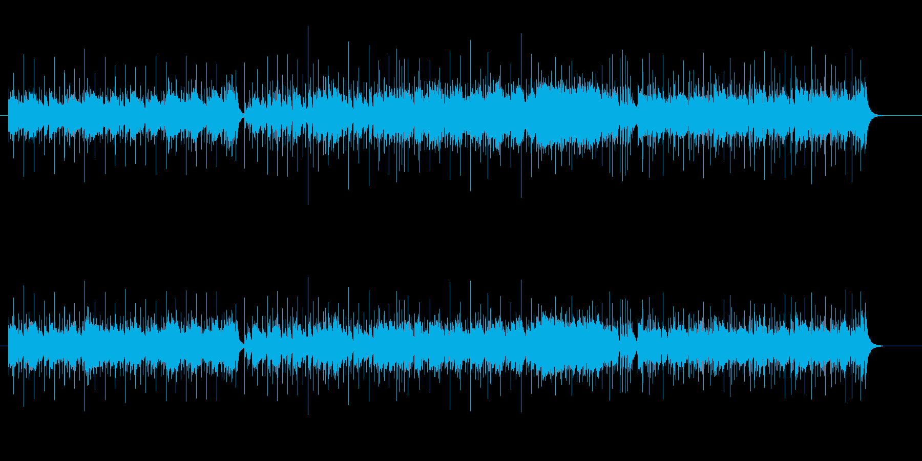 疾走感のあるフュージョンの再生済みの波形