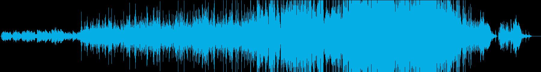 クリスマス・ピアノバラードの再生済みの波形