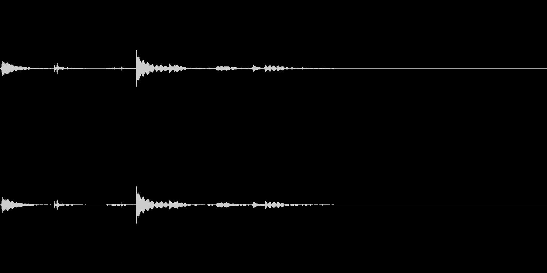 コップの中を混ぜてた時の氷の音 1の未再生の波形