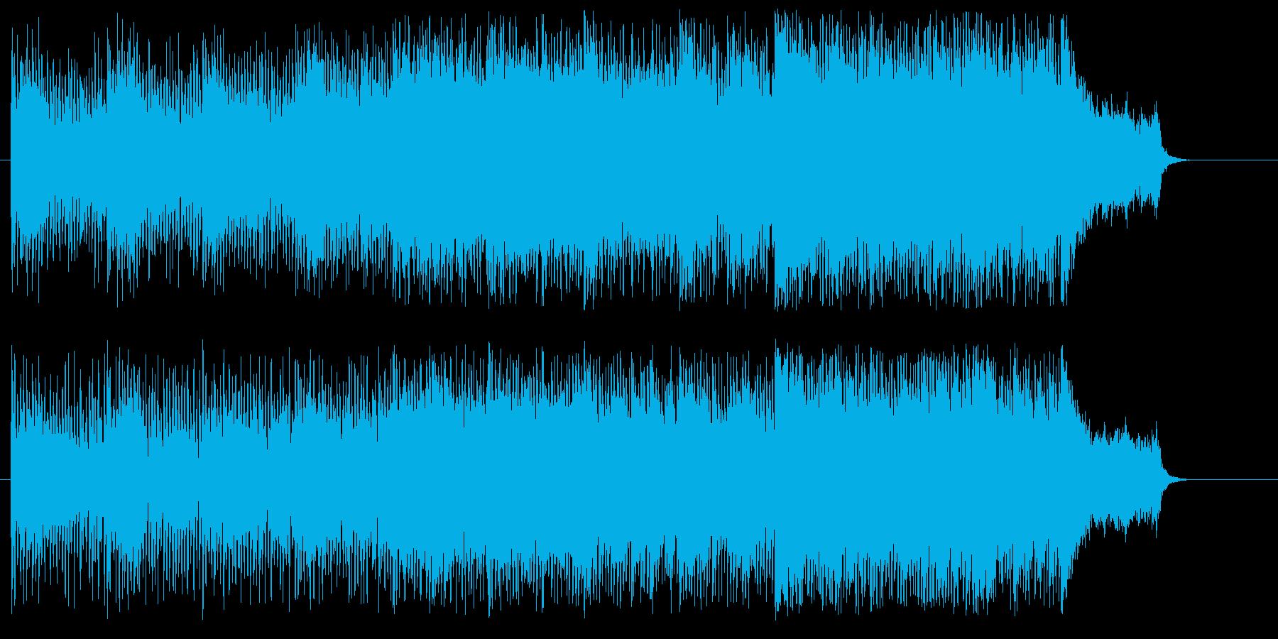 問題意識をくすぐるテーマの再生済みの波形