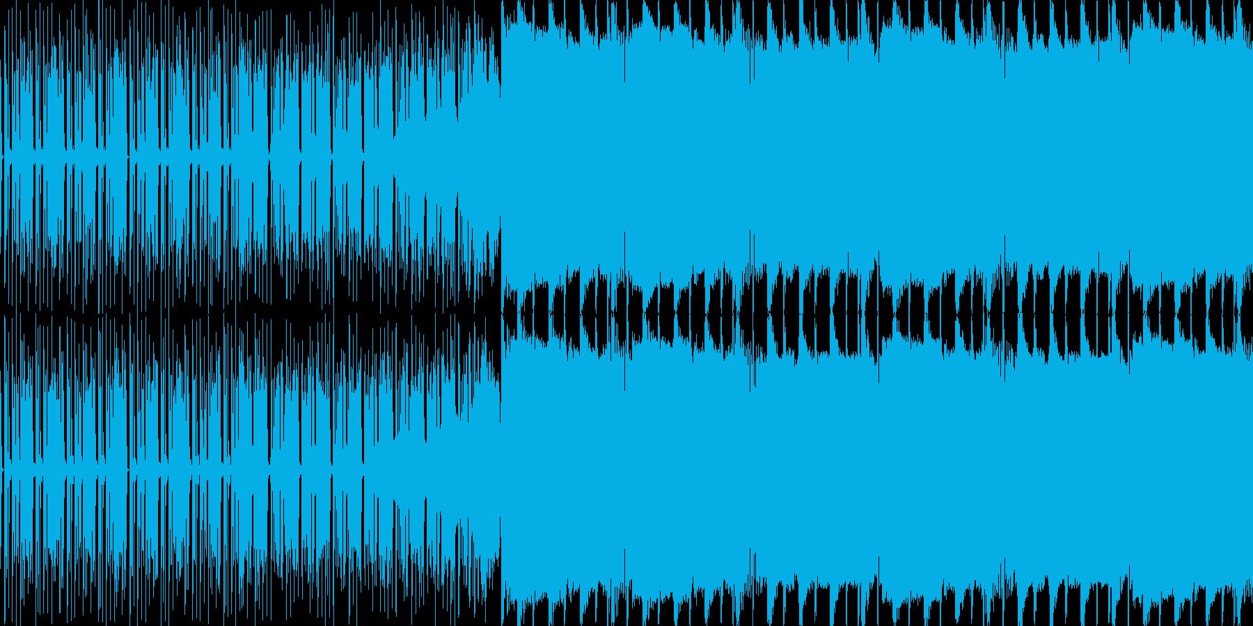 【クラブイベントに派手なブロステップ】の再生済みの波形