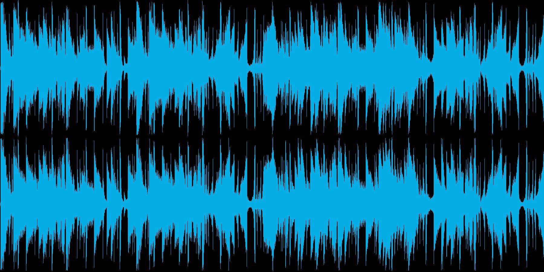 【おしゃれラウンジピアノJAZZ】の再生済みの波形