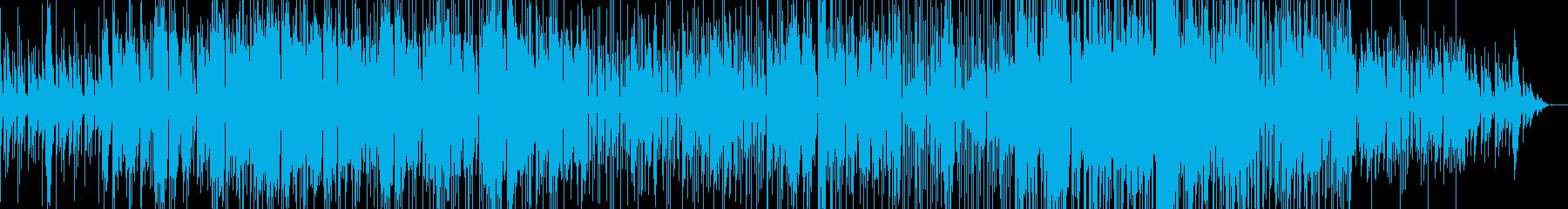 尺八(Wa & Electronic)の再生済みの波形