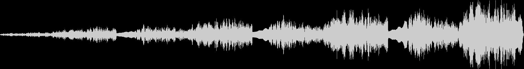 オドロオドロしい登場のBGMの未再生の波形