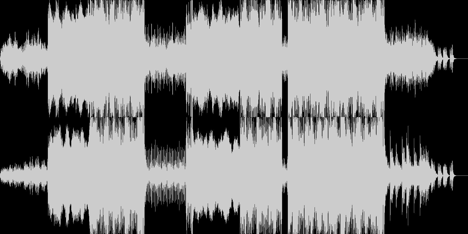エンドロールなどに最適な楽曲ですの未再生の波形