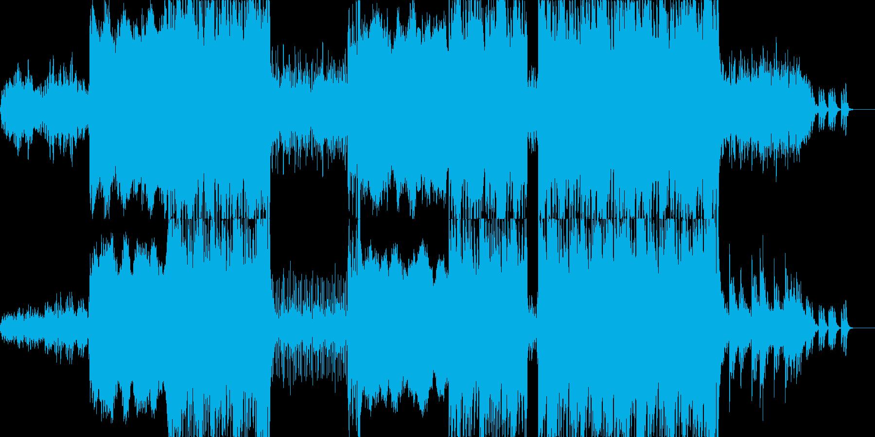 エンドロールなどに最適な楽曲ですの再生済みの波形