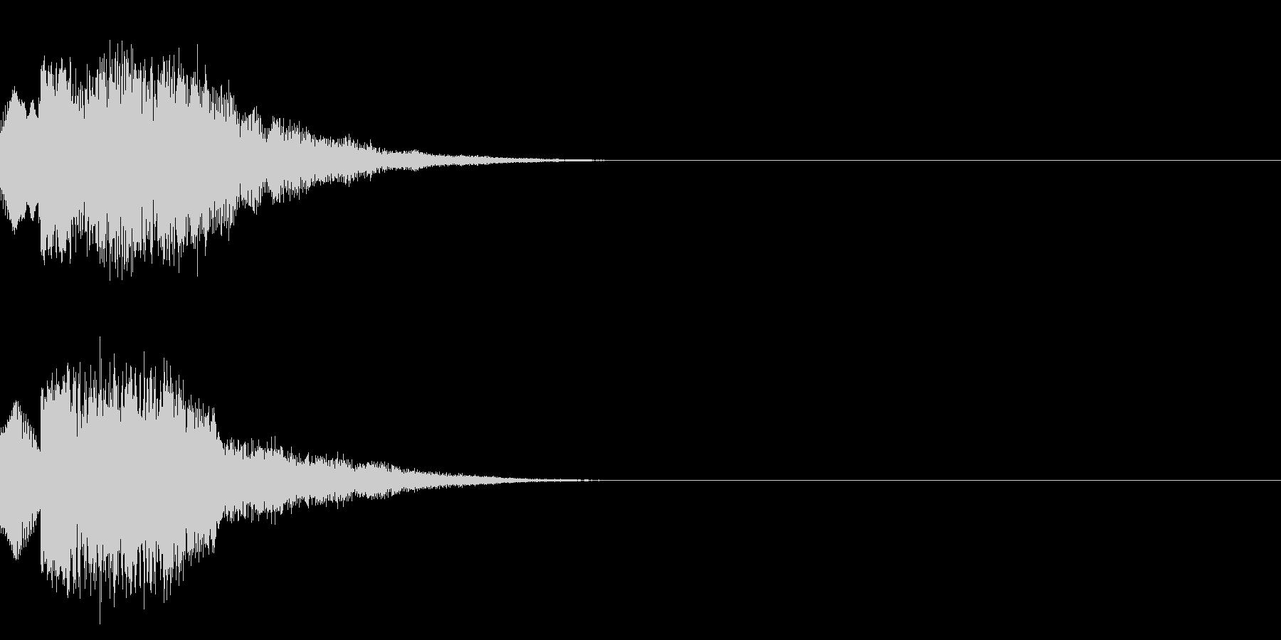 キュイン/レベルアップ/SF系の未再生の波形