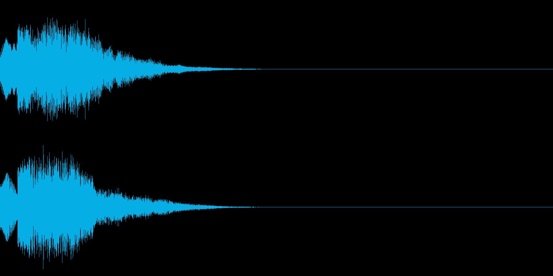 キュイン/レベルアップ/SF系の再生済みの波形