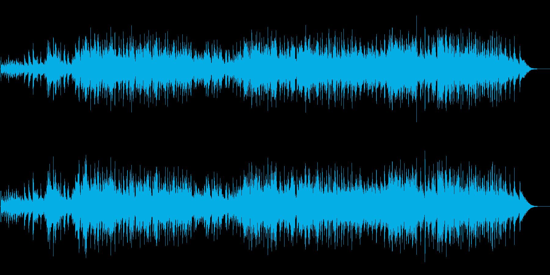 ジェントル&メローなジャズ・バラードの再生済みの波形