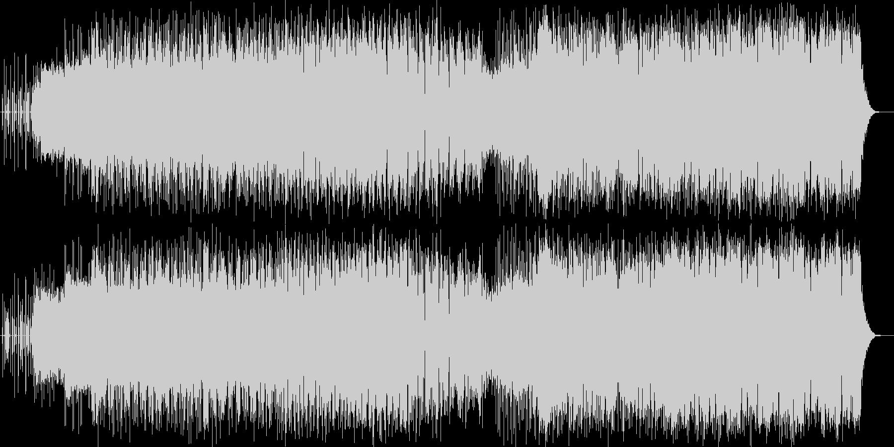 フルートで奏でるオリオン座の物語の未再生の波形