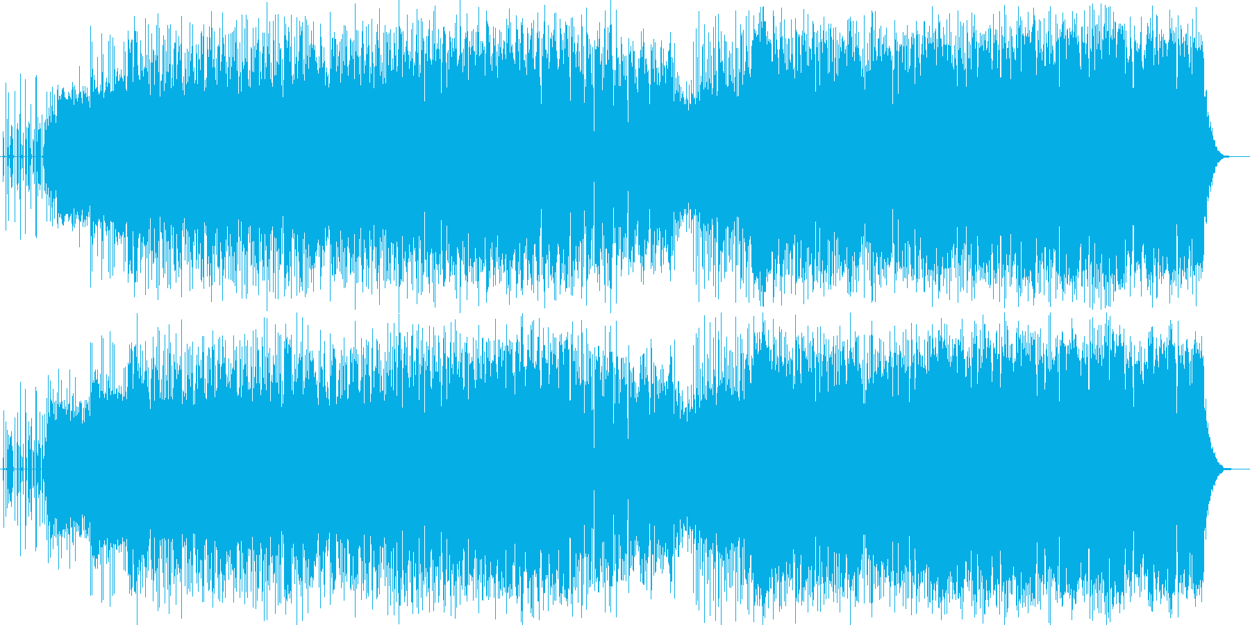 フルートで奏でるオリオン座の物語の再生済みの波形