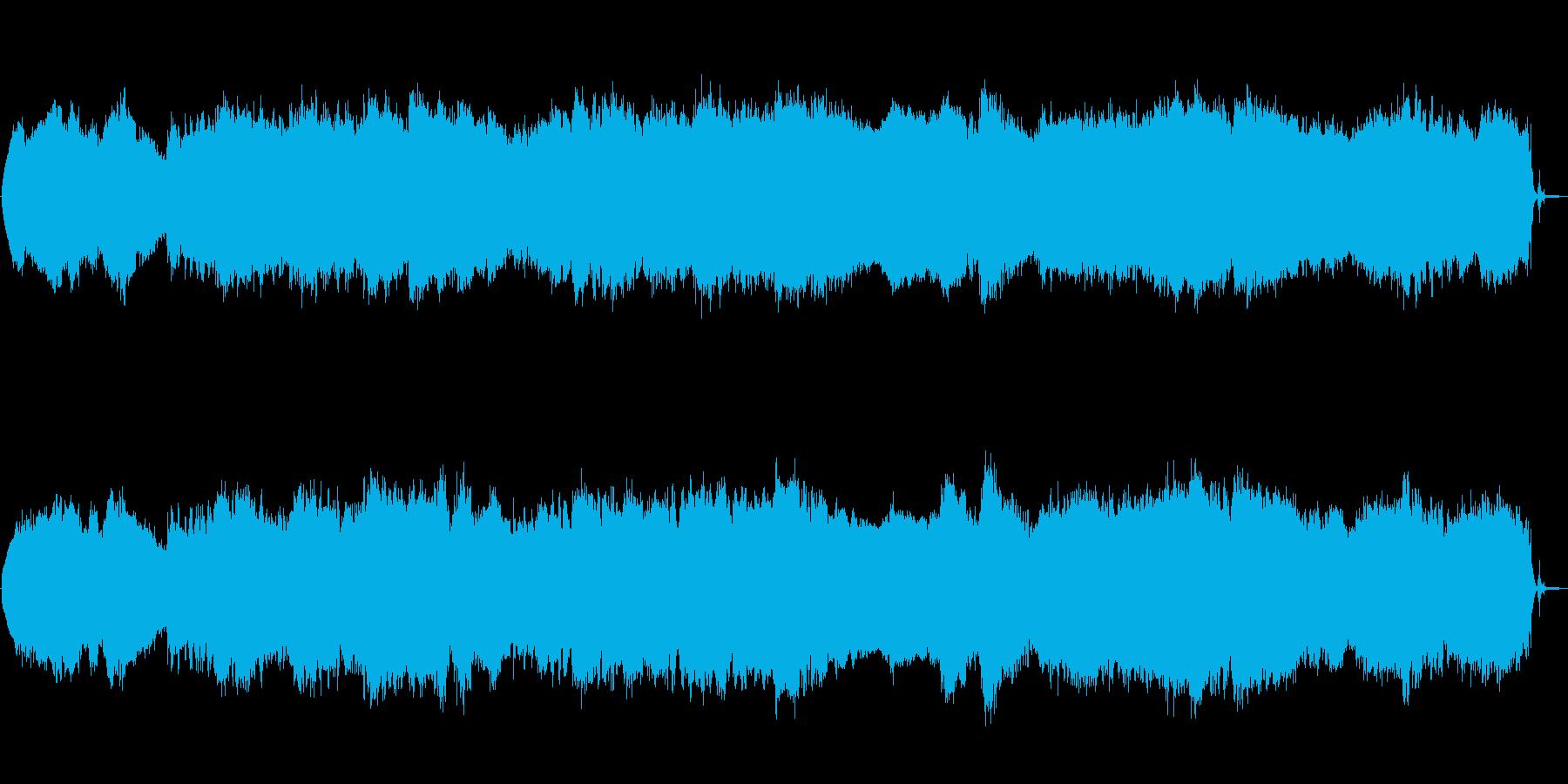 エレキギター ノイズ アンビエント 廃墟の再生済みの波形