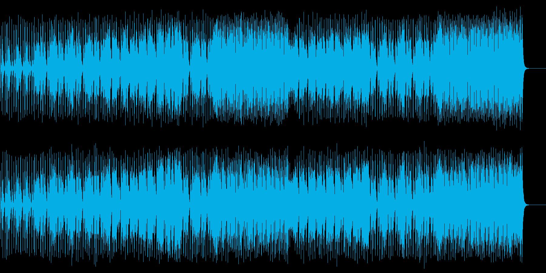 豪華な彩を緩やかに添えるフュージョンの再生済みの波形