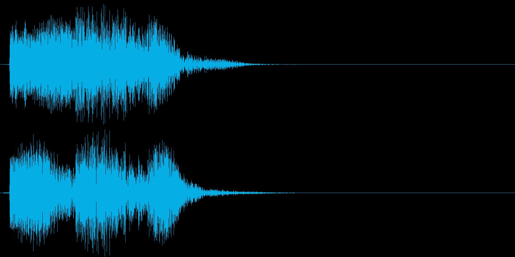チュボ(ビーム、電子、ゲーム)の再生済みの波形