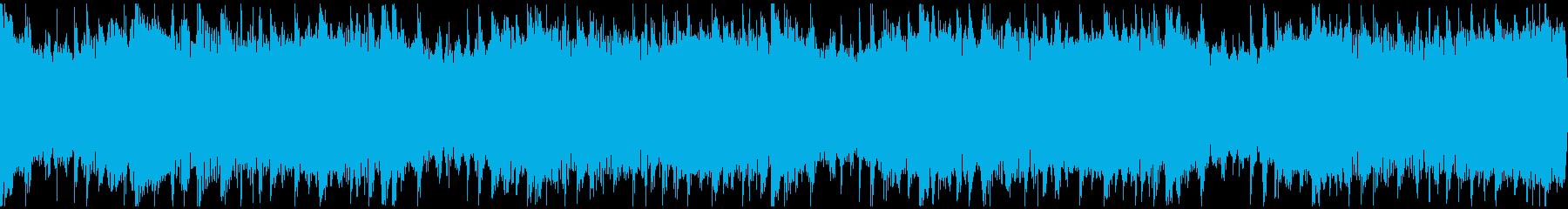 感動を演出するCM、爽やか動画、ループ2の再生済みの波形