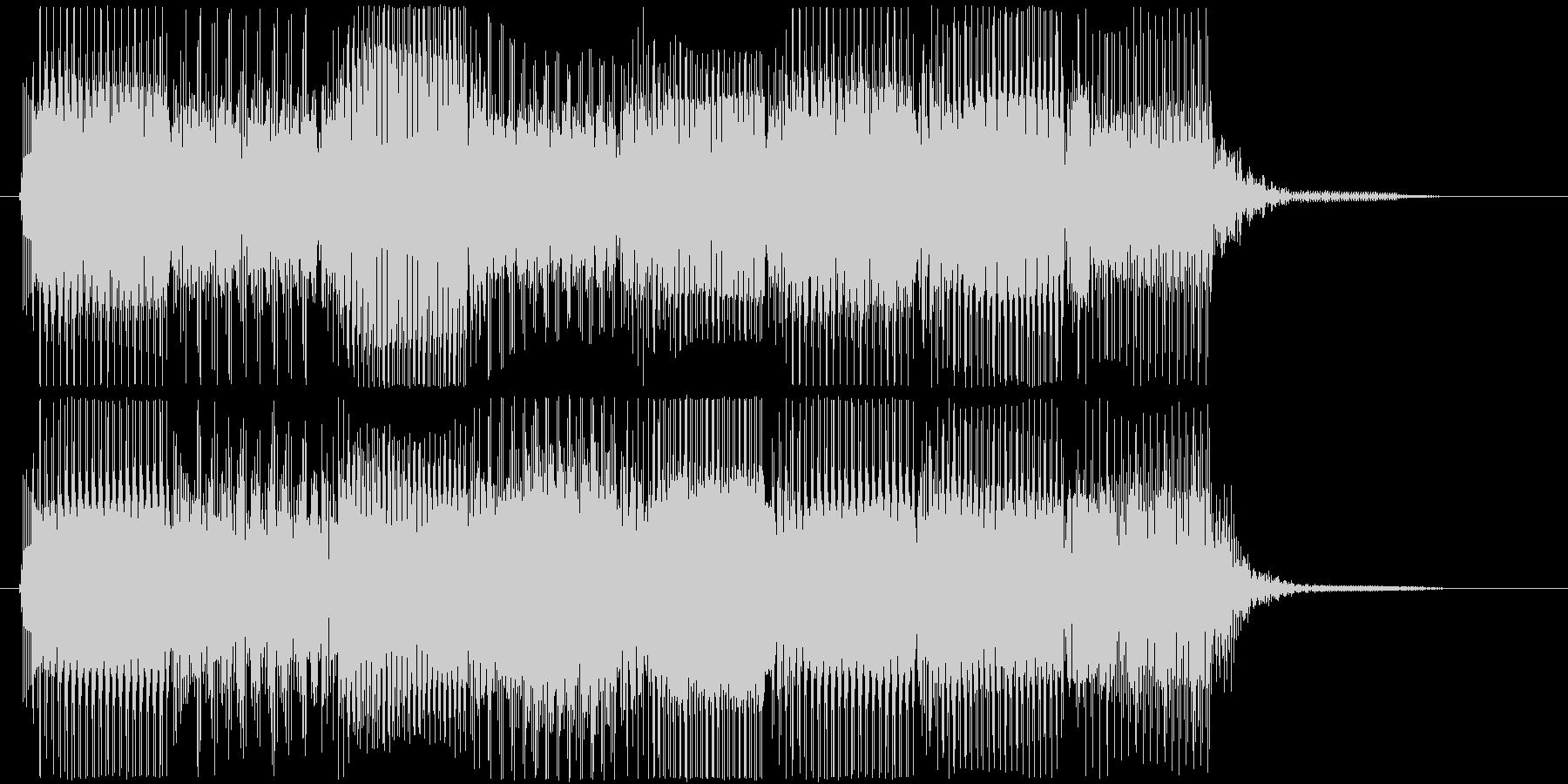 高音版 レトロなゲームオーバー・フレーズの未再生の波形