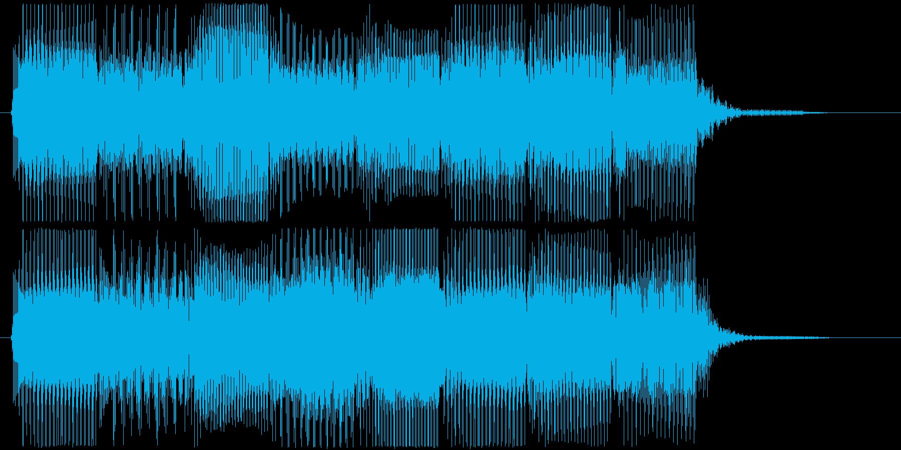 高音版 レトロなゲームオーバー・フレーズの再生済みの波形