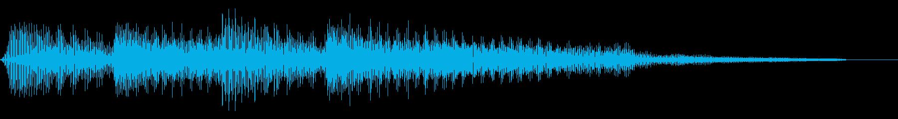 コミカルなゲームオーバー ミス 8bitの再生済みの波形
