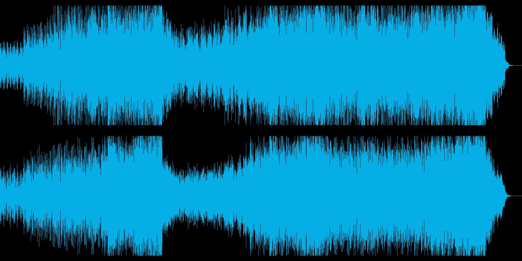 和風/ロック/オーケストラ/融合/力強いの再生済みの波形