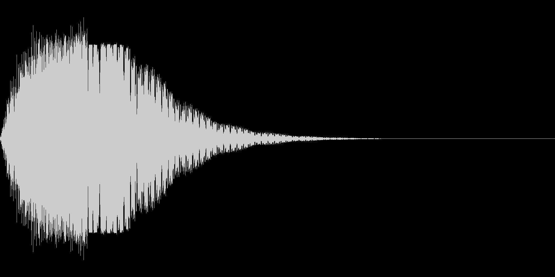 ブゥオンの未再生の波形