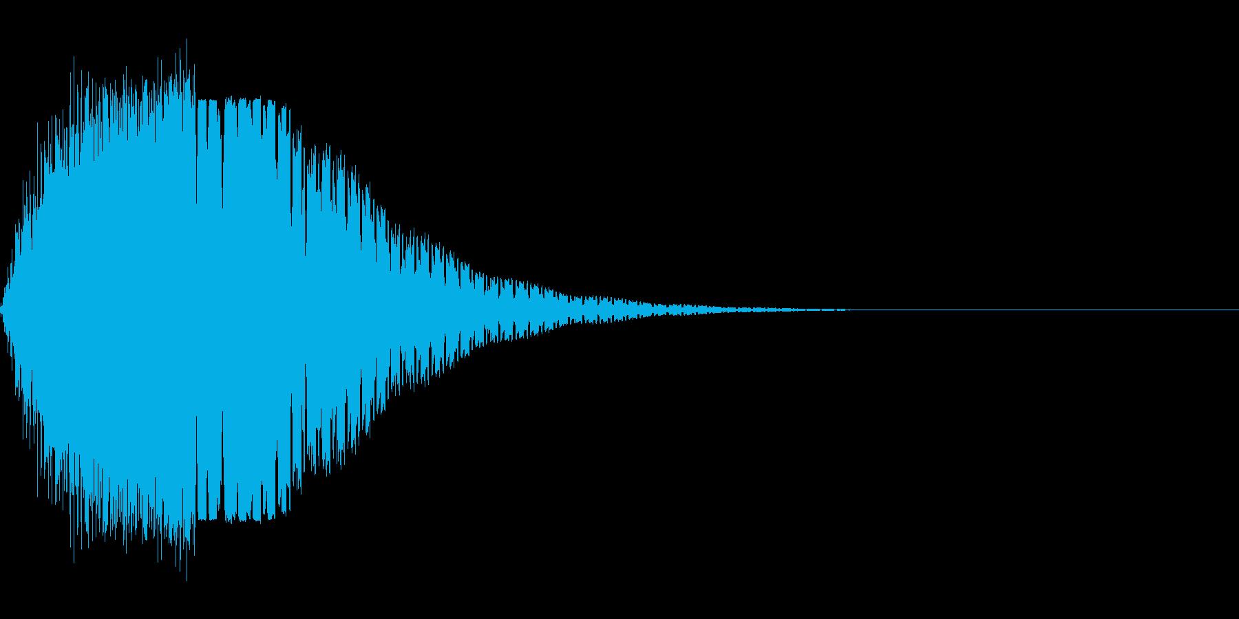 ブゥオンの再生済みの波形