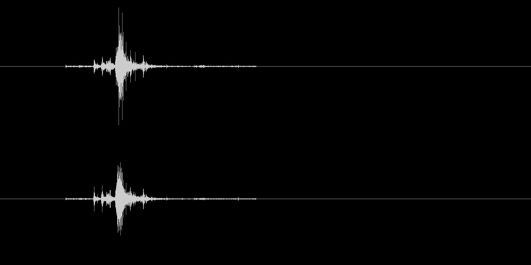 ZIPPO(ジッポ)の着火音 真鍮無垢の未再生の波形