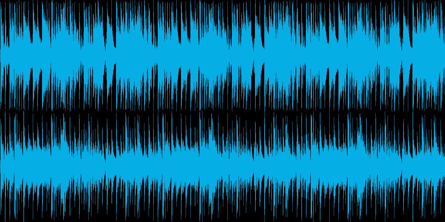 【アコギ/ウエスタン風ポップス】の再生済みの波形