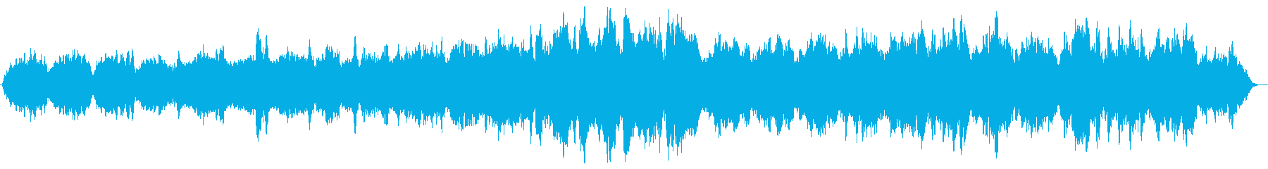 クラシカルでゆったりしたストリングスの再生済みの波形