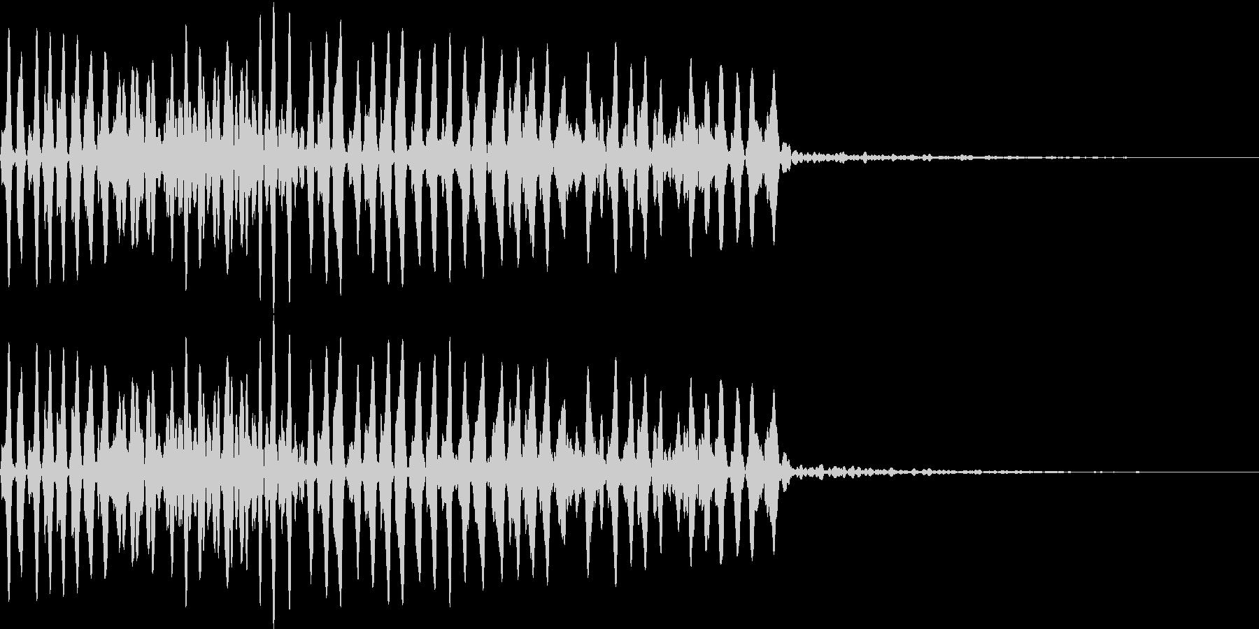 Animal 虫の鳴き声 教育・絵本にの未再生の波形