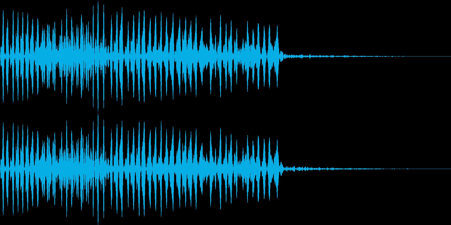Animal 虫の鳴き声 教育・絵本にの再生済みの波形